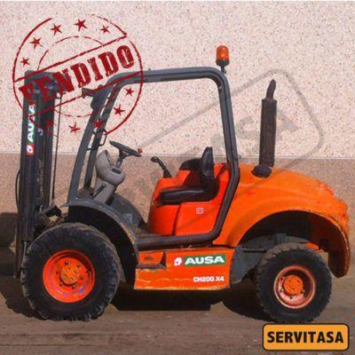 Carretilla AUSA CH200 4X4