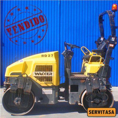 Rodillo compactador WACKER RD 27