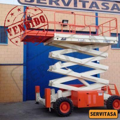 Plataforma Elevadora de Tijera Diésel 12 metros JLG 33 RTS