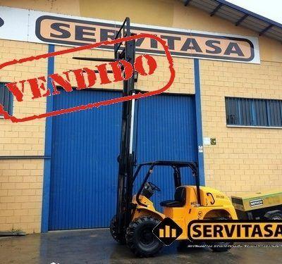 CARRETILLA ELEVADORA UROMAC DTH2500