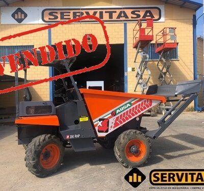 DUMPER AUTOCARGABLE AUSA 200RHP VENDIDO