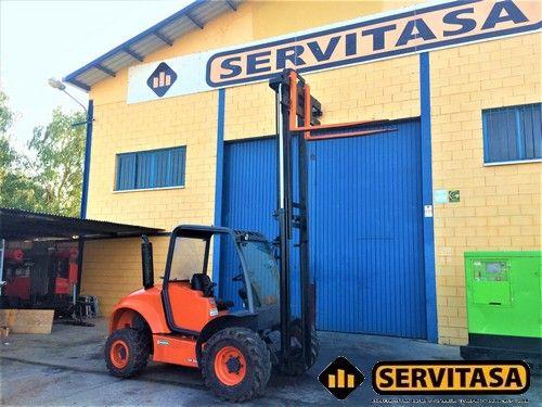NUEVA CARRETILLA AUSA CH200 4X4