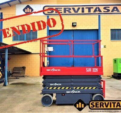 PLATAFORMA ELEVADORA ELECTRICA SKYJACK 3226VENDIDO