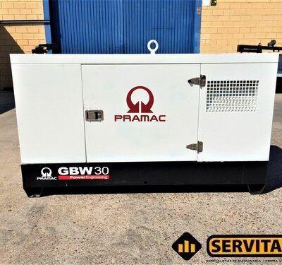 GRUPO ELECTROGENO PRAMAC GBW30 30 KVS
