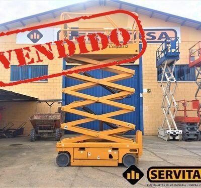 PLATAFORMA ELEVADORA HAULOTTE COMPACT 12 VENDIDA
